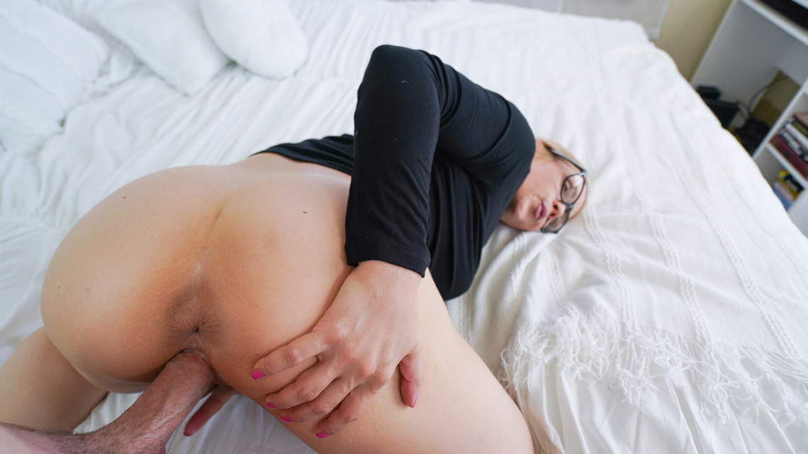 Step Mom Get Stuck Under Bed