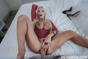 Hot blonde Brittany Andrews takes big hard cock