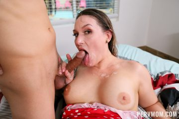 pervmom_charley_hart_gets a facial over her face and chest